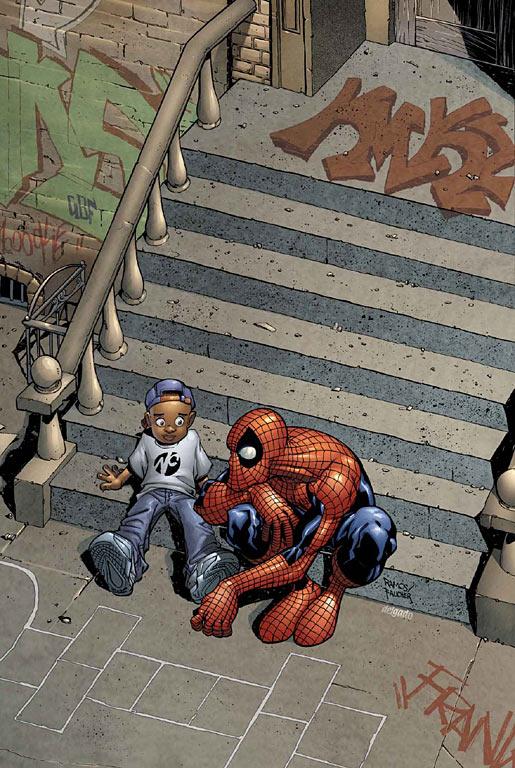 Питер Паркер - Человек-паук художник