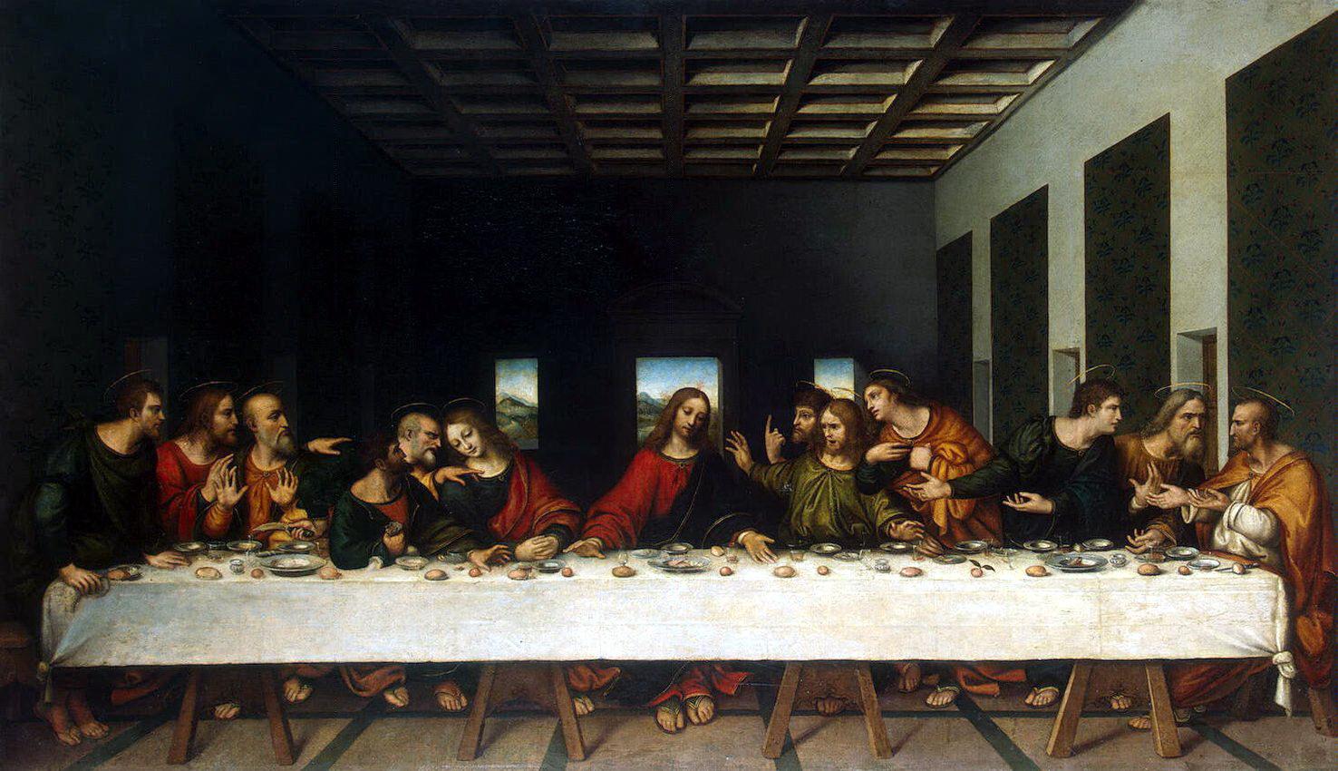 Тайная вечеря Да Винчи