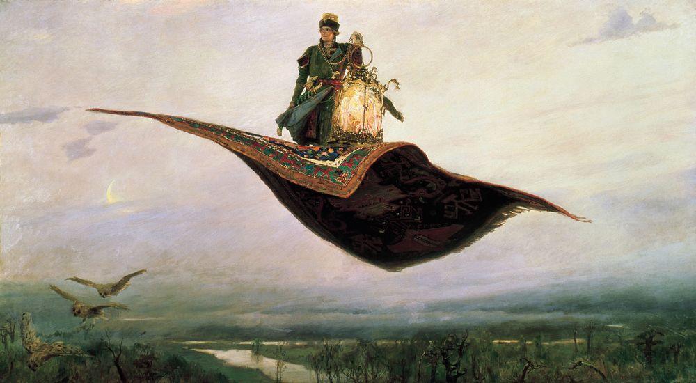 Ковер-самолет. Васнецов