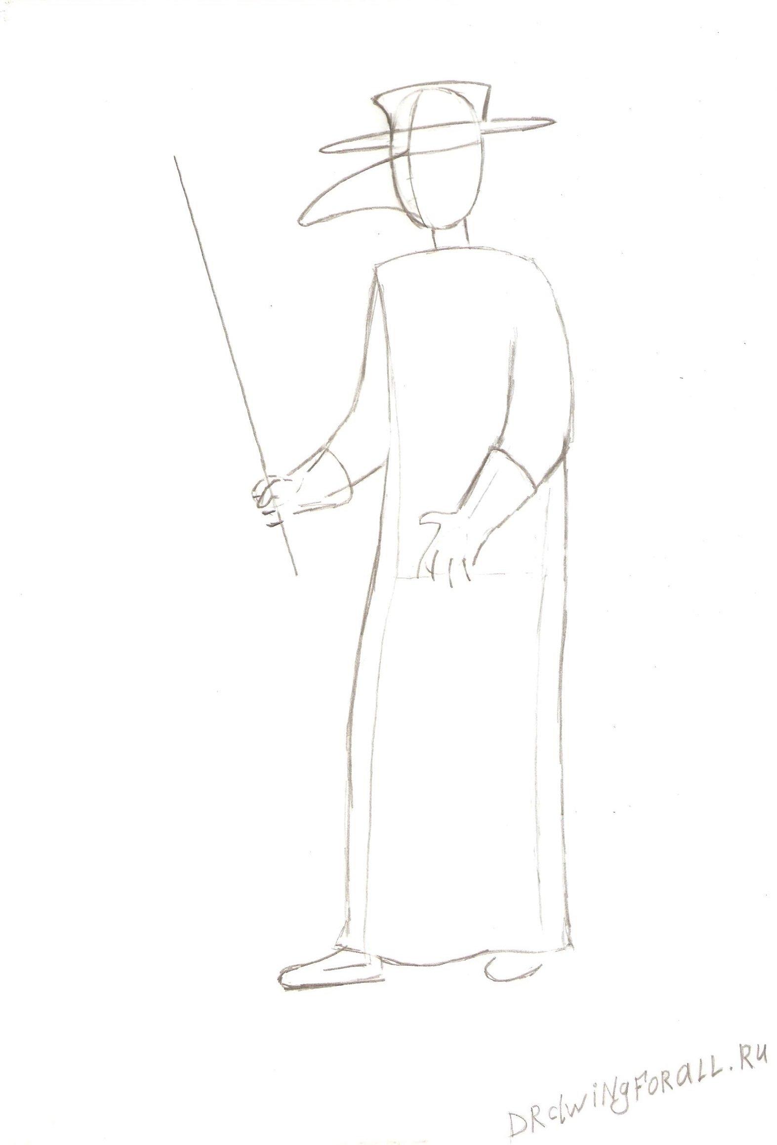 чумной доктор костюм