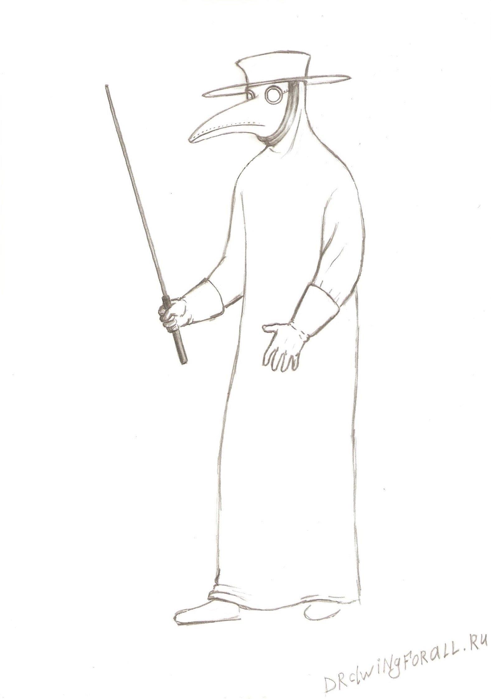 поэтапное рисование карандашом