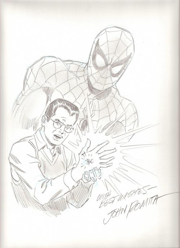 Peter Parker by Romita Sr