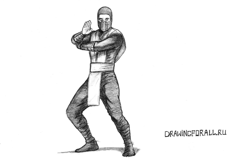 Как нарисовать Скорпиона