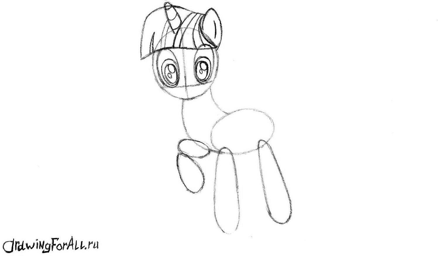 Рог пони