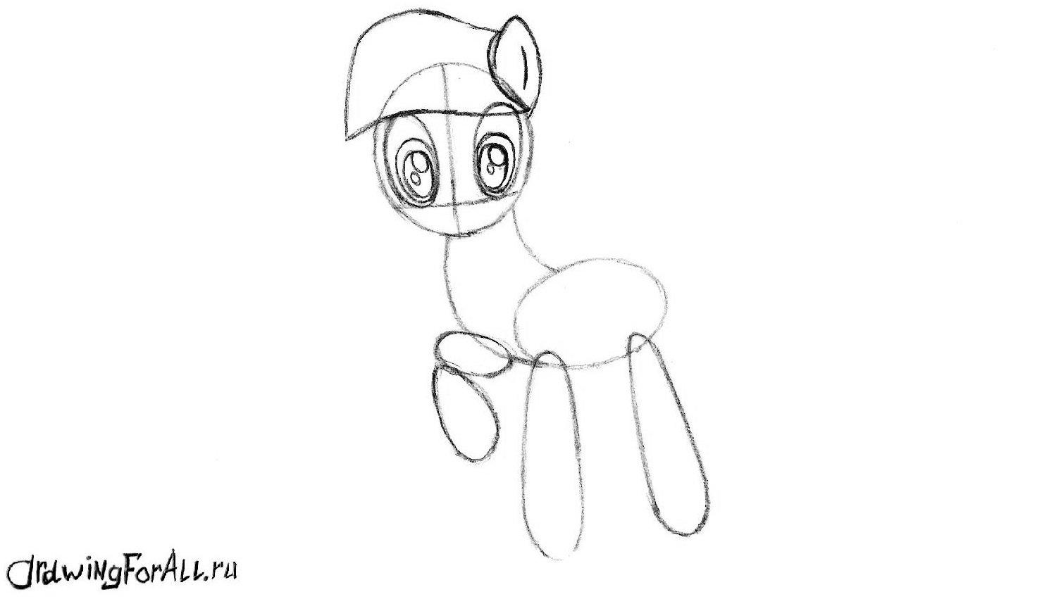 Чёлка пони