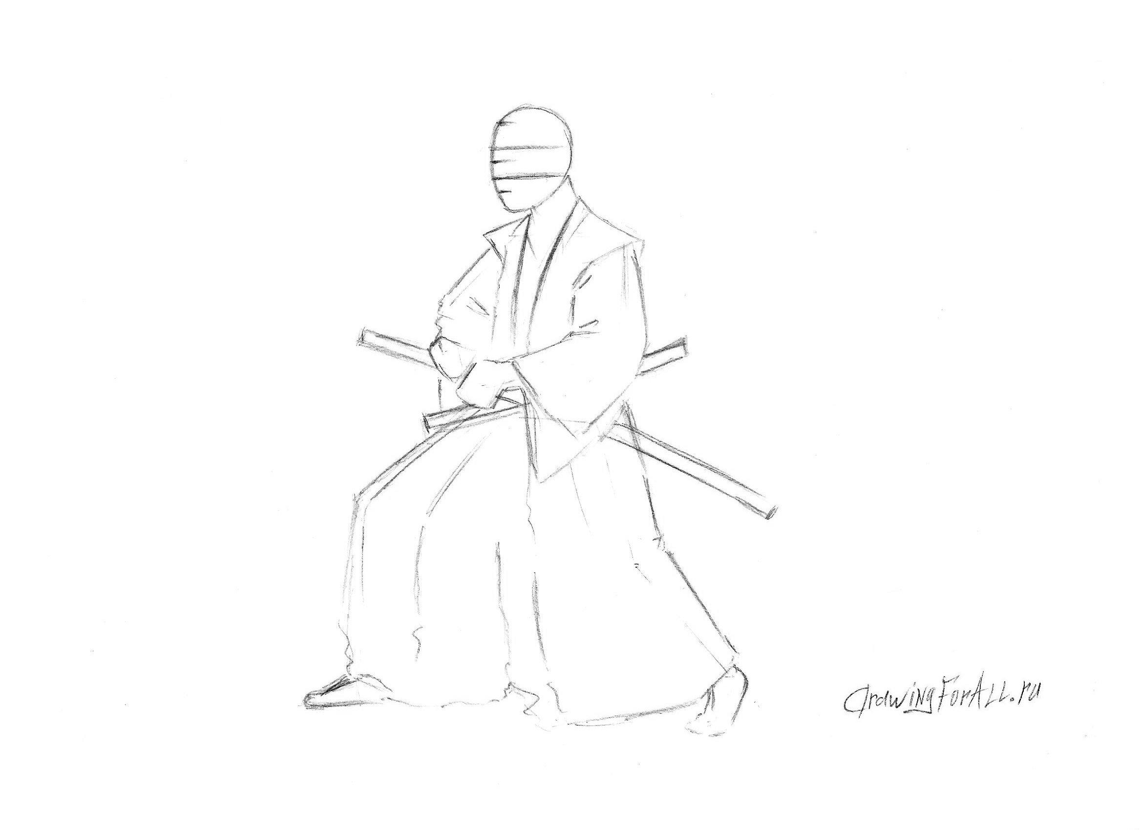 одежда самурая