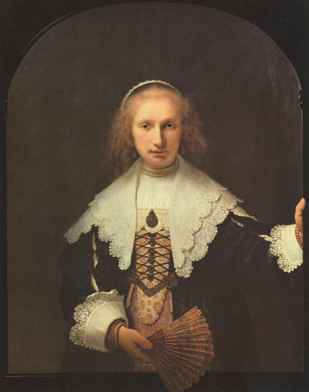 портрет Агаты Бас, Рембрандт