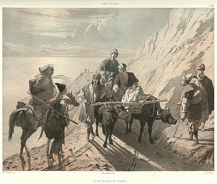 транскавказская магистраль, 19 век