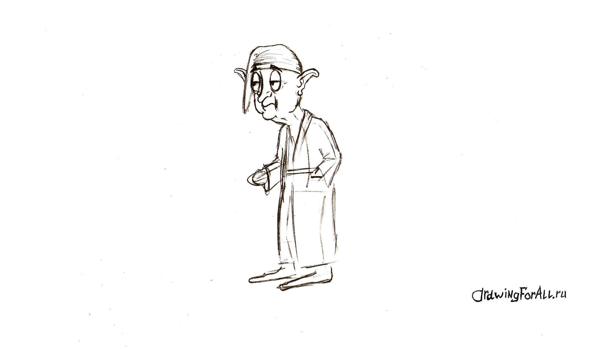 детализация сказочного персонажа