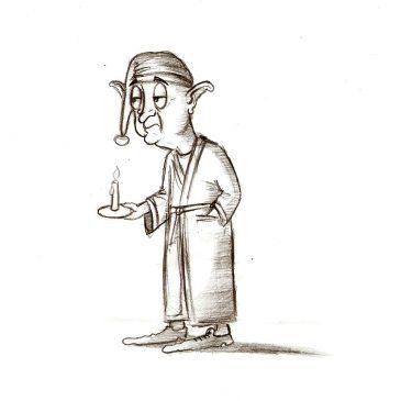 Как нарисовать сказочного персонажа