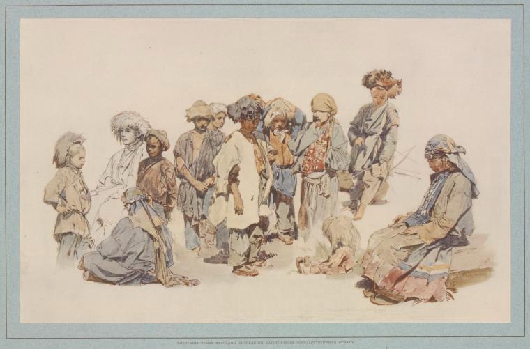 Чеченские дети XIX век