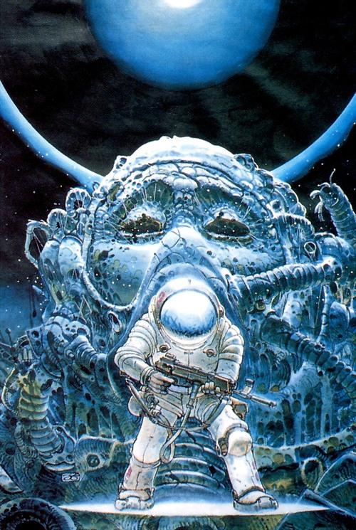 Космонавт рисунок