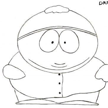 Как нарисовать Картмана