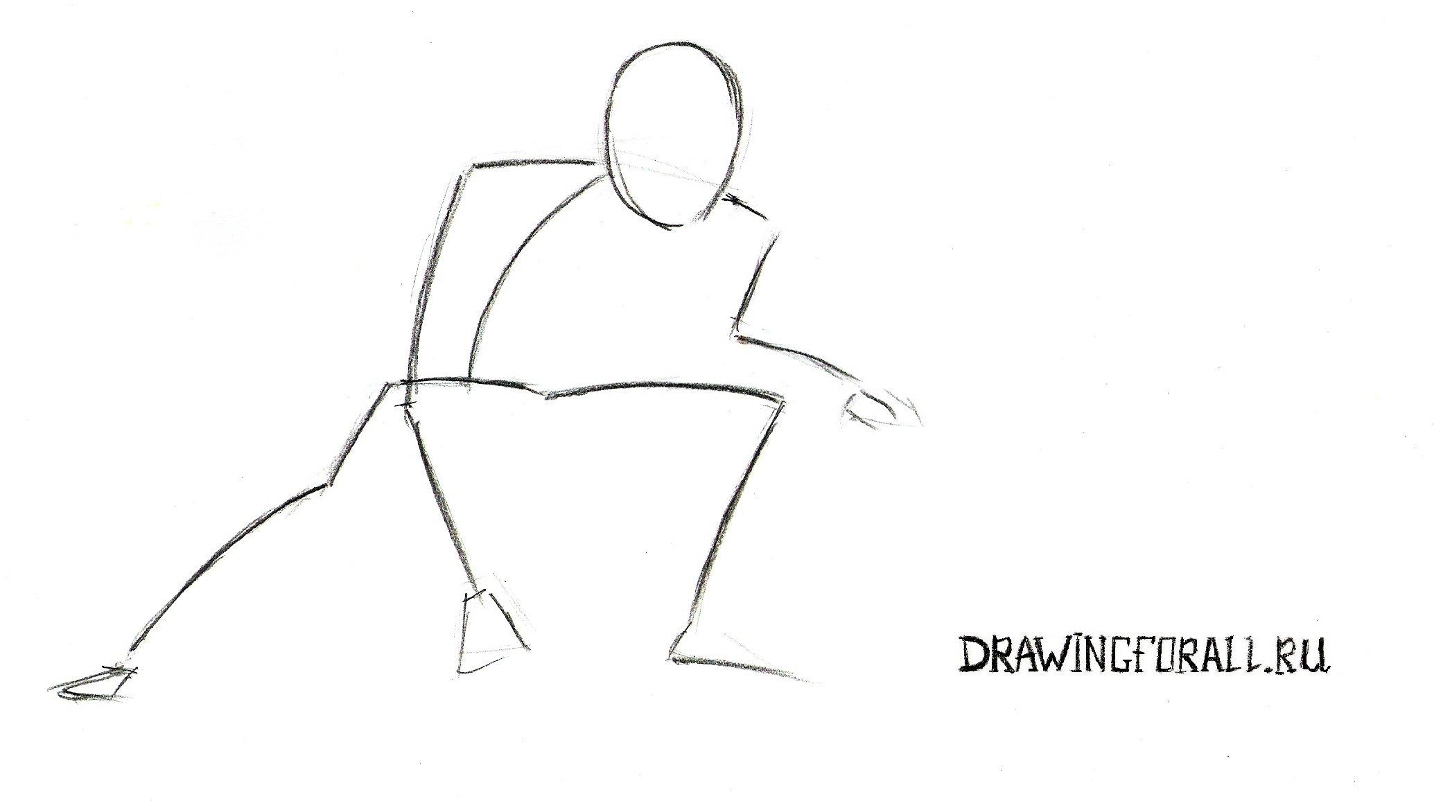 Как нарисовать зелёного гоблина