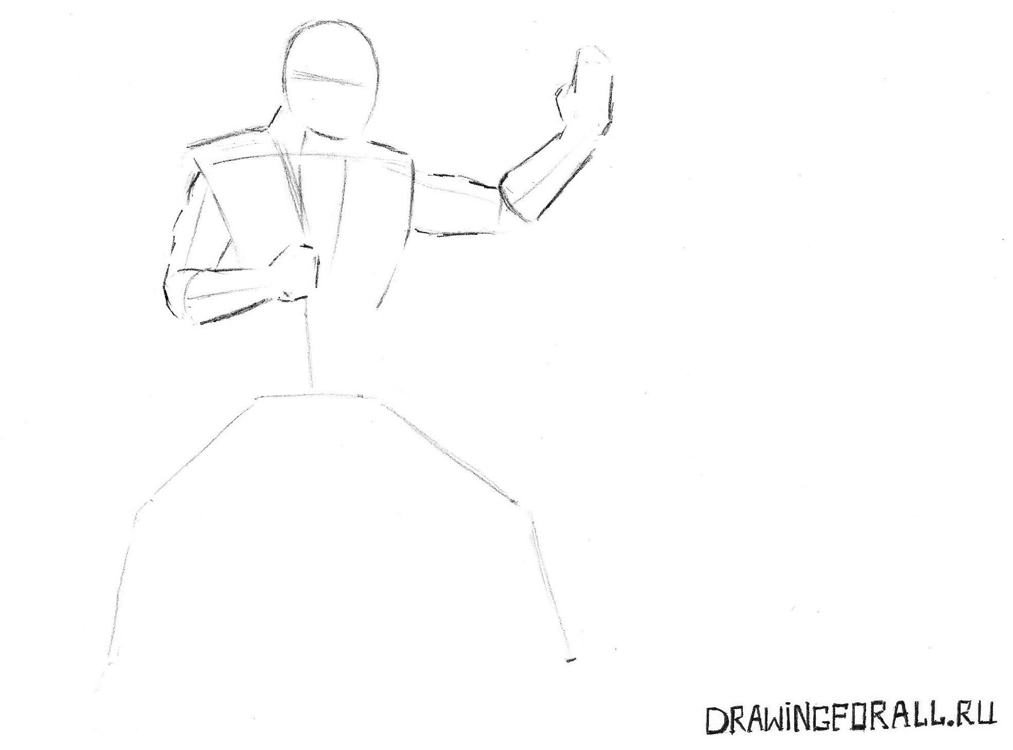 как нарисовать саб зиро