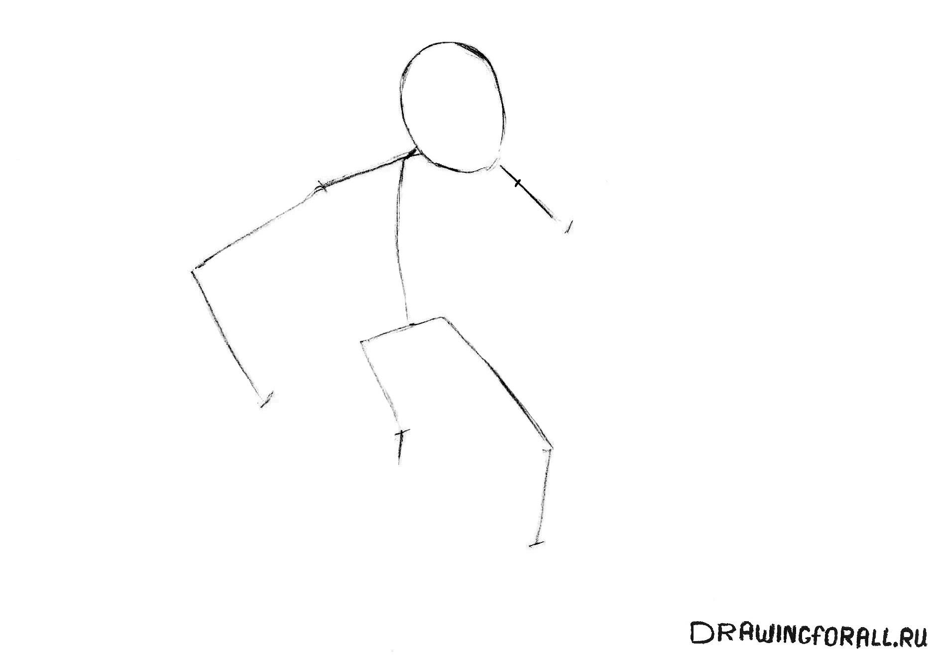 как нарисовать циклопа карандашом