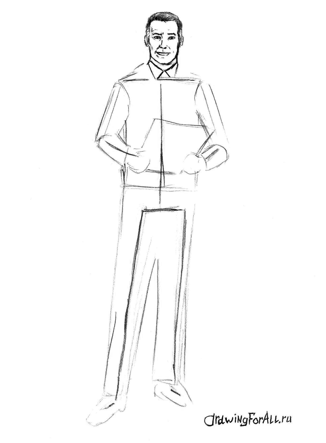 Как нарисовать врача