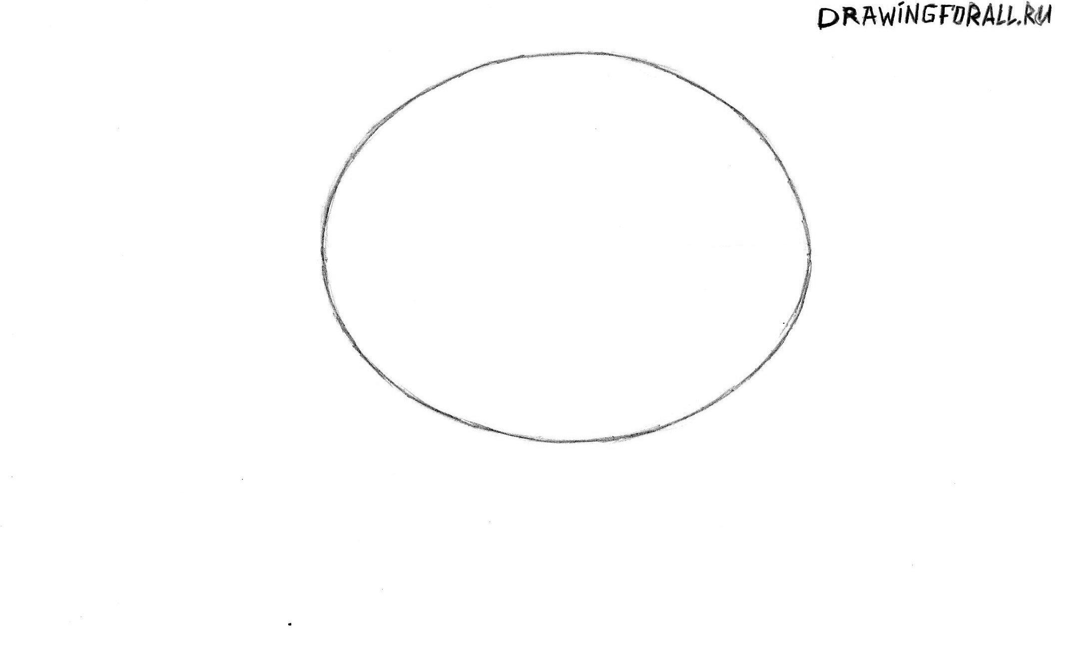 рисуем голову Картмана из Южного Парка