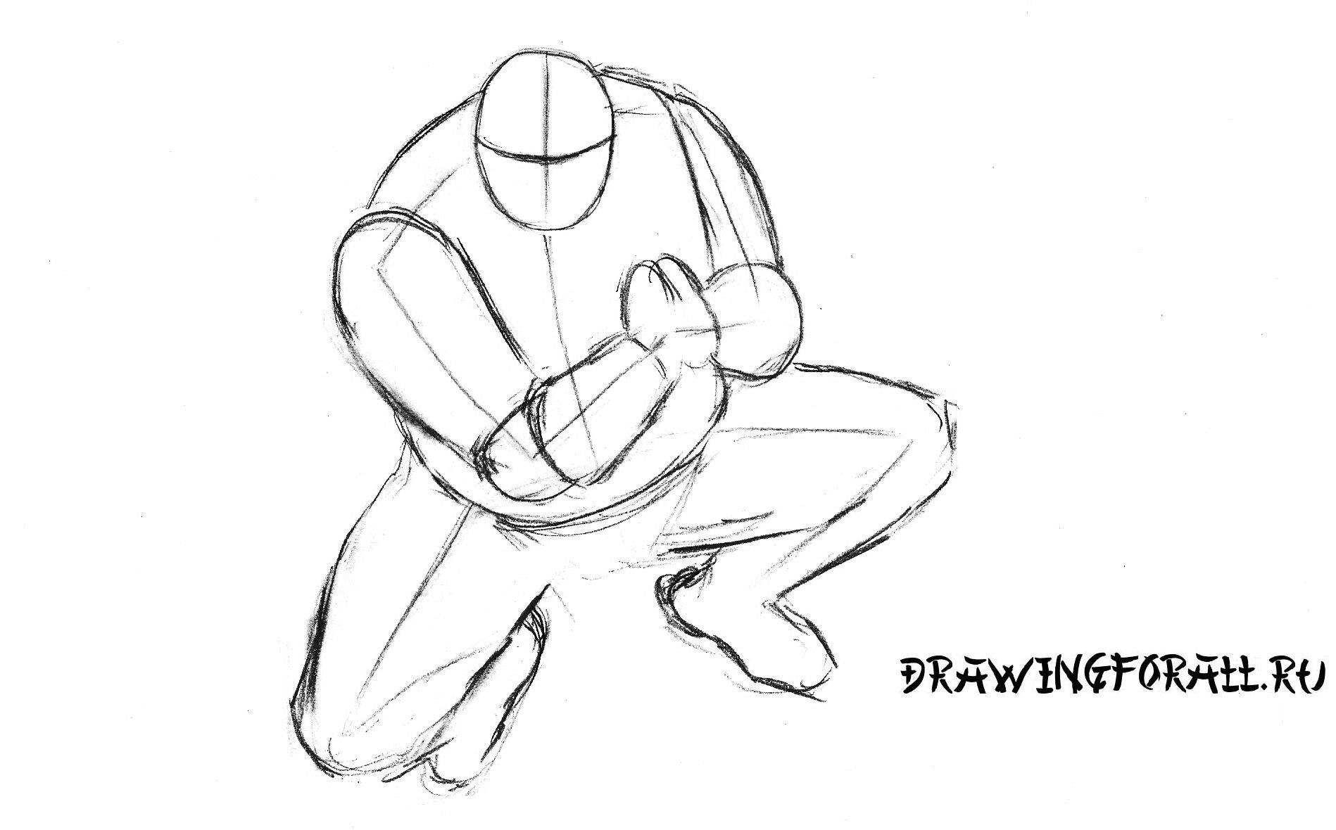 Рисуем ниндзя