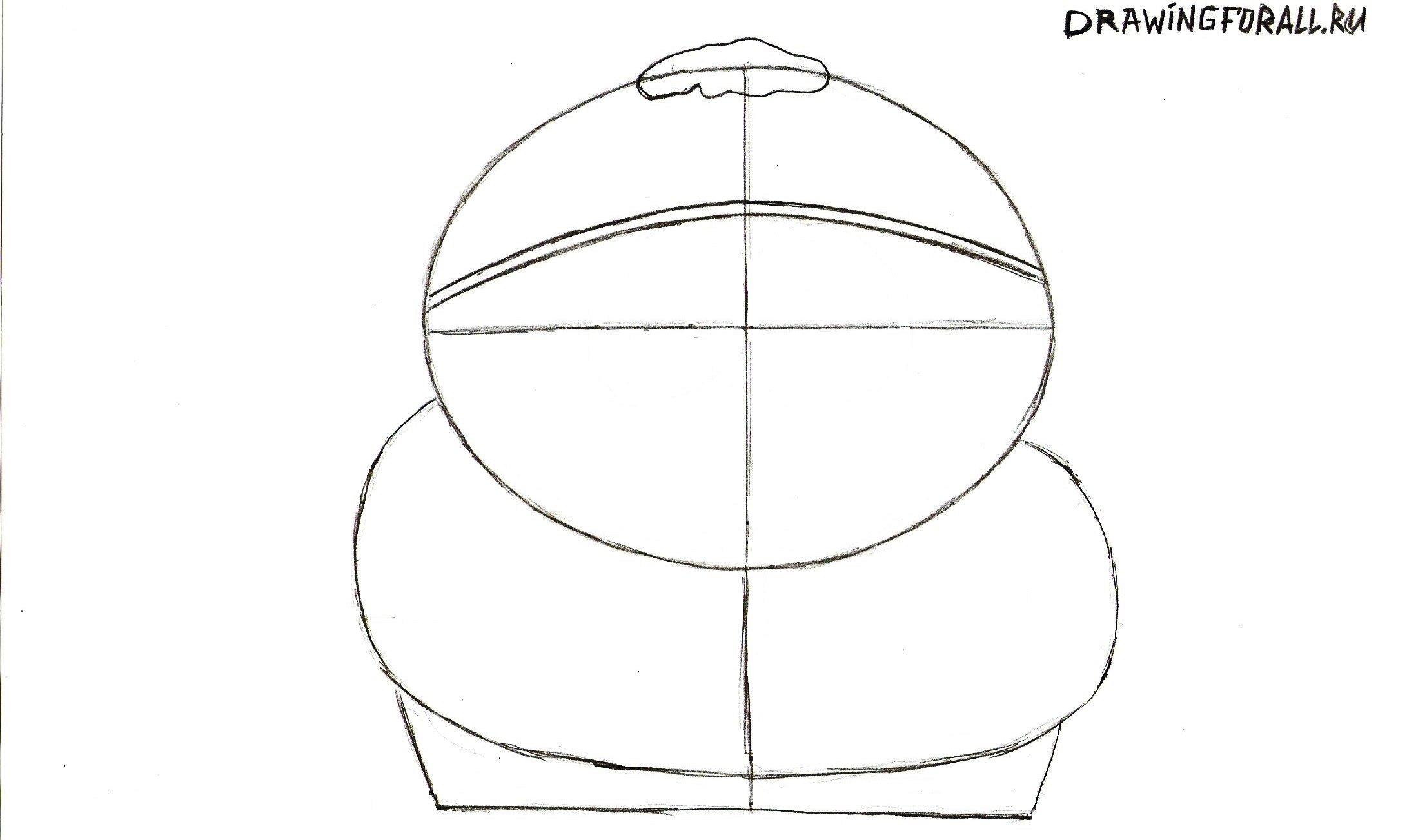 рисуем шапку Картмана