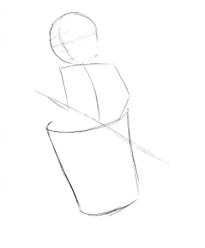 Как нарисовать бабу ягу своими руками 25