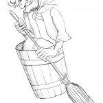 Как нарисовать Бабу-Ягу