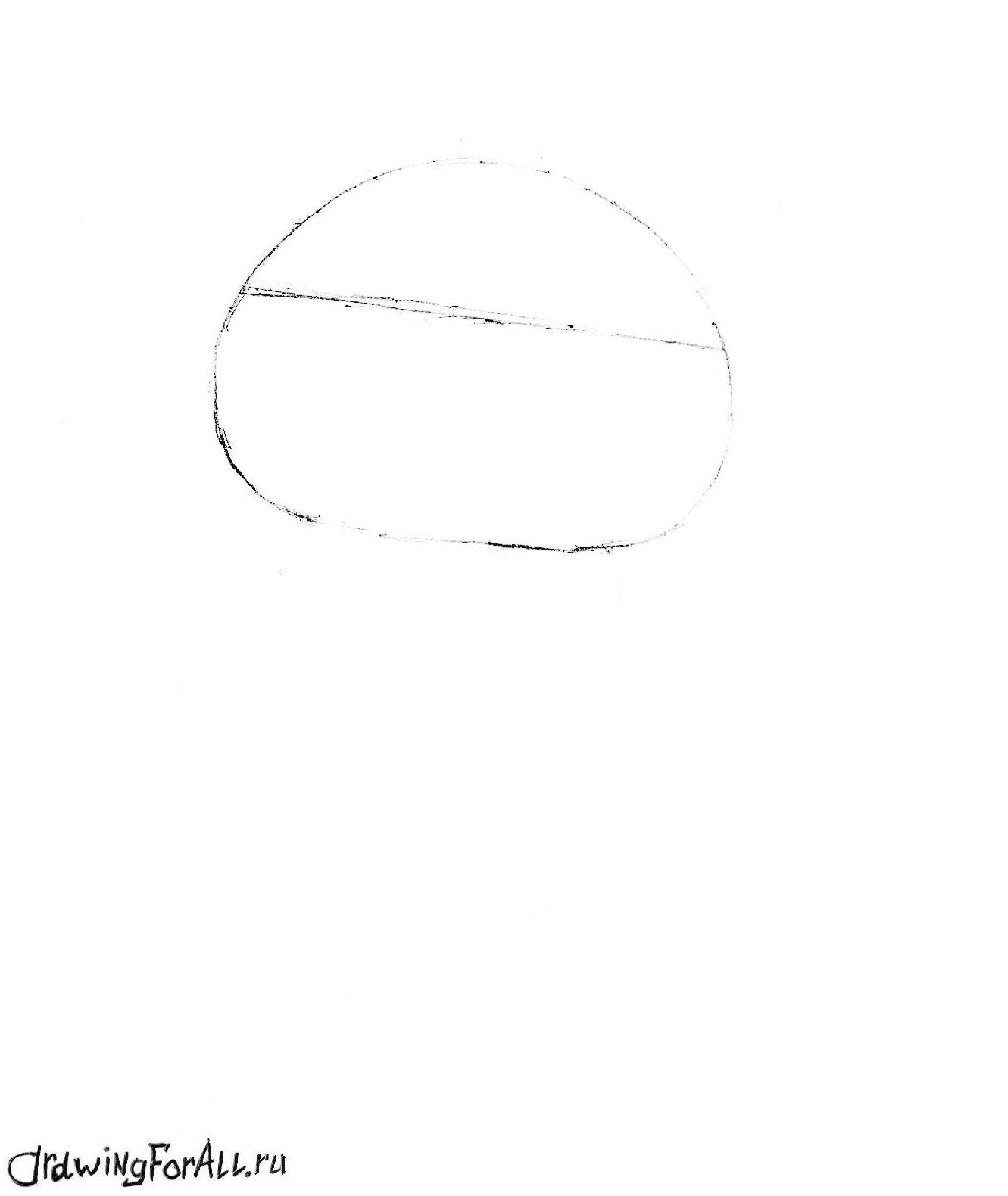 как рисовать олимпийского мишку