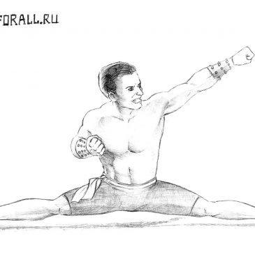 Как нарисовать Джонни Кейджа