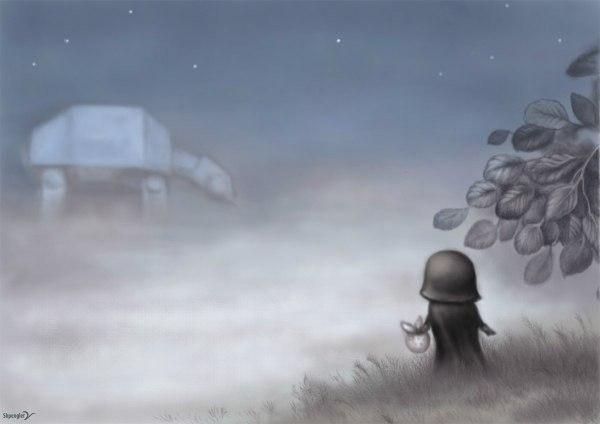 в тумане дарт вейдер