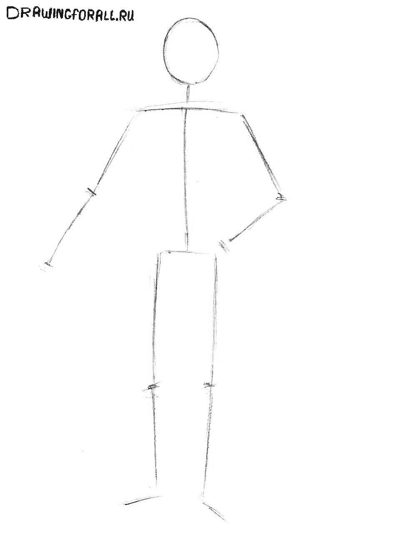 картинки как нарисовать рыцаря