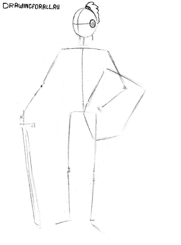 картинки рыцарей нарисованные карандашом