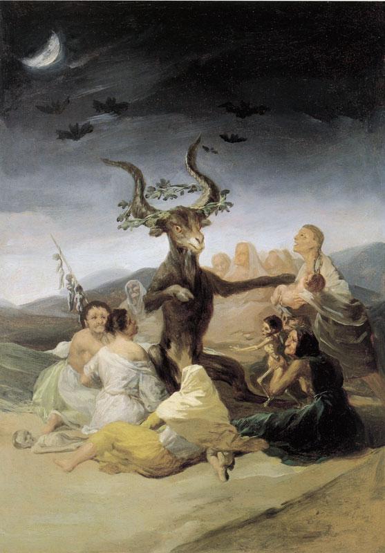 Шабаш ведьм гойя