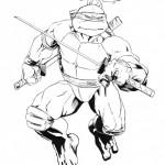 Как нарисовать Черепашку ниндзя