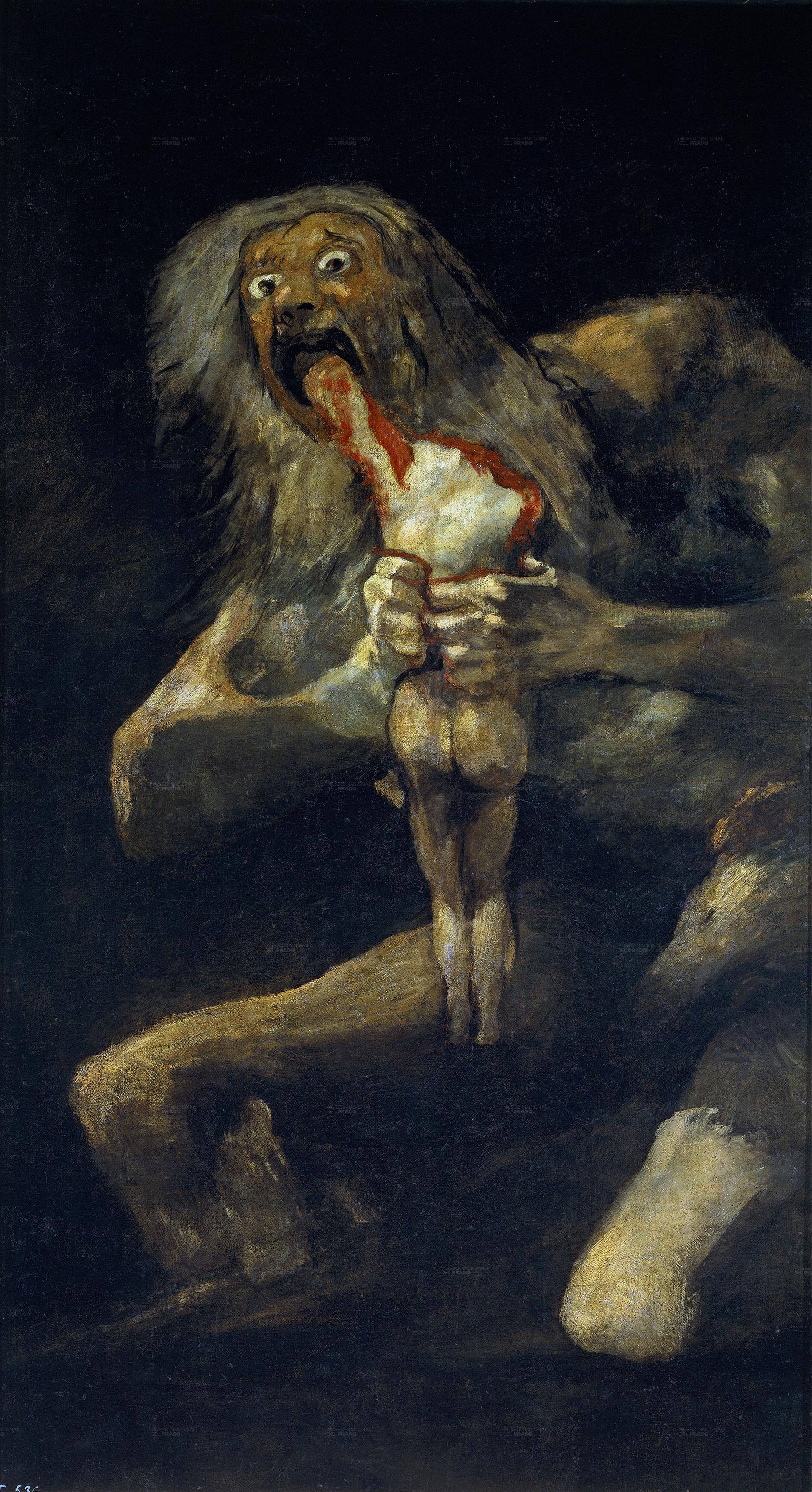 сатурн пожирающий своего сына