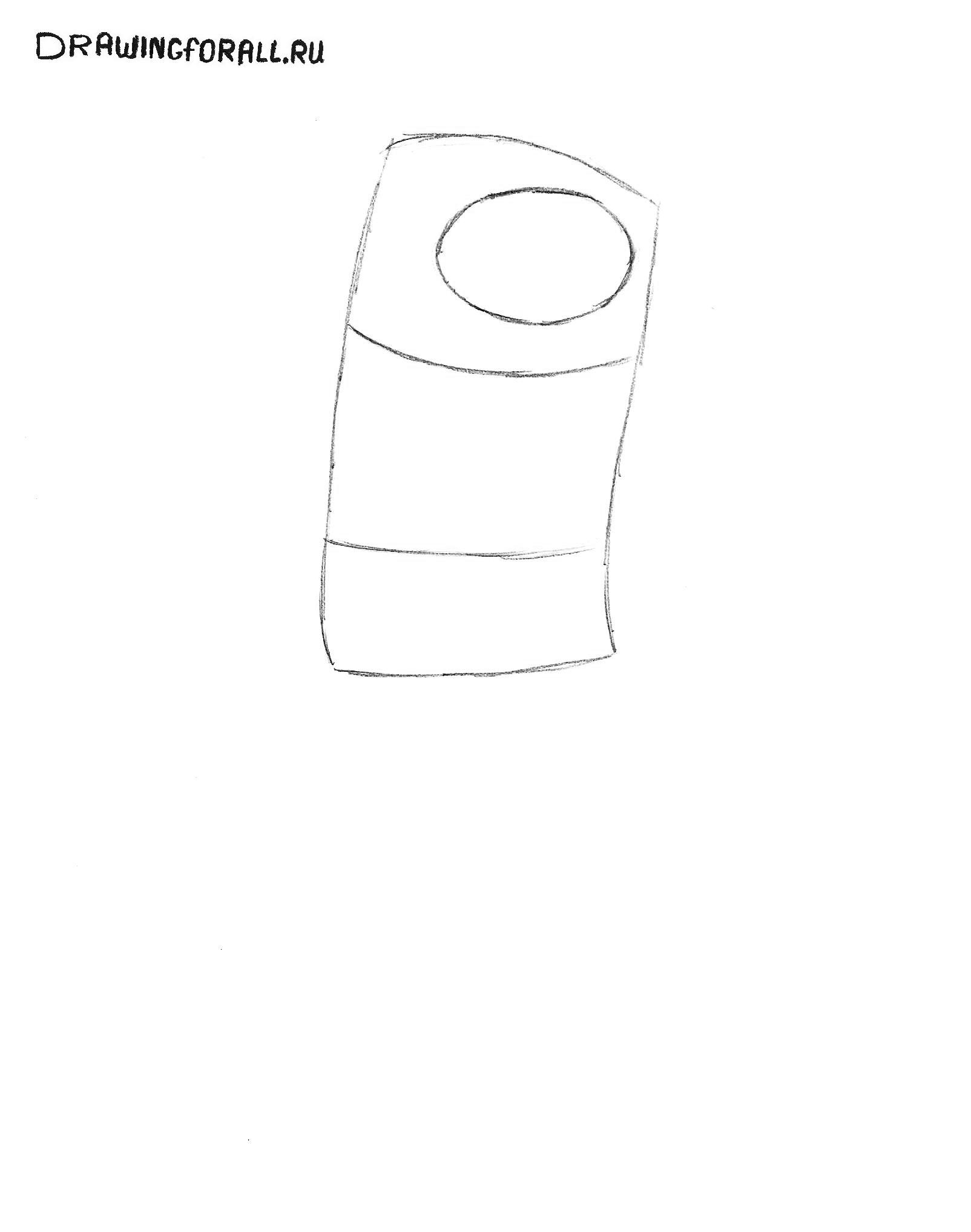 Как нарисовать время приключений карандашом
