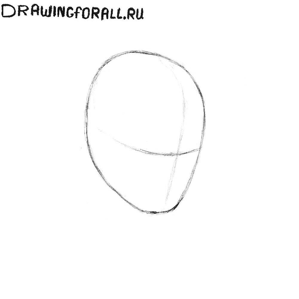Как нарисовать голову
