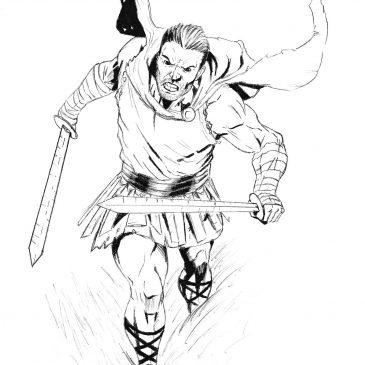 Как нарисовать легионера