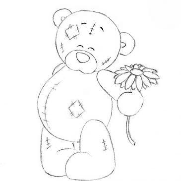 Как нарисовать мишку