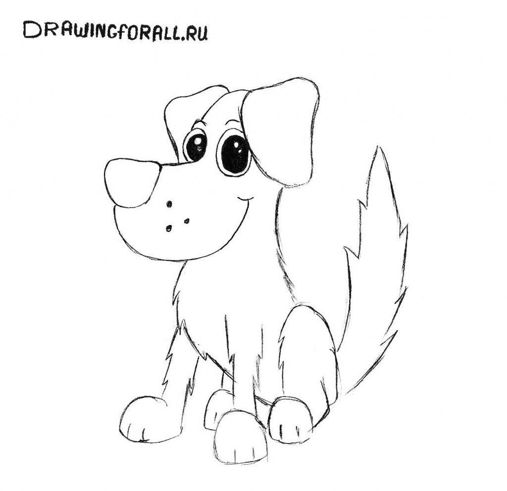 волну экологических срисовывать рисунки собачку его картинах можно