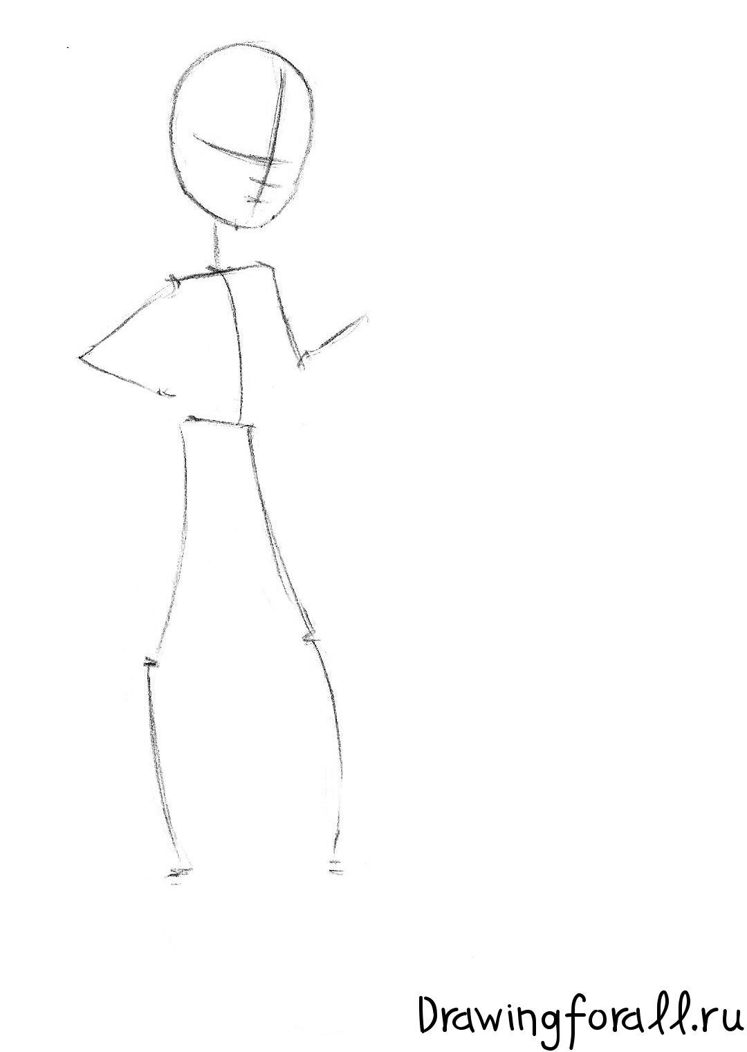 как нарисовать фрэнки штейн