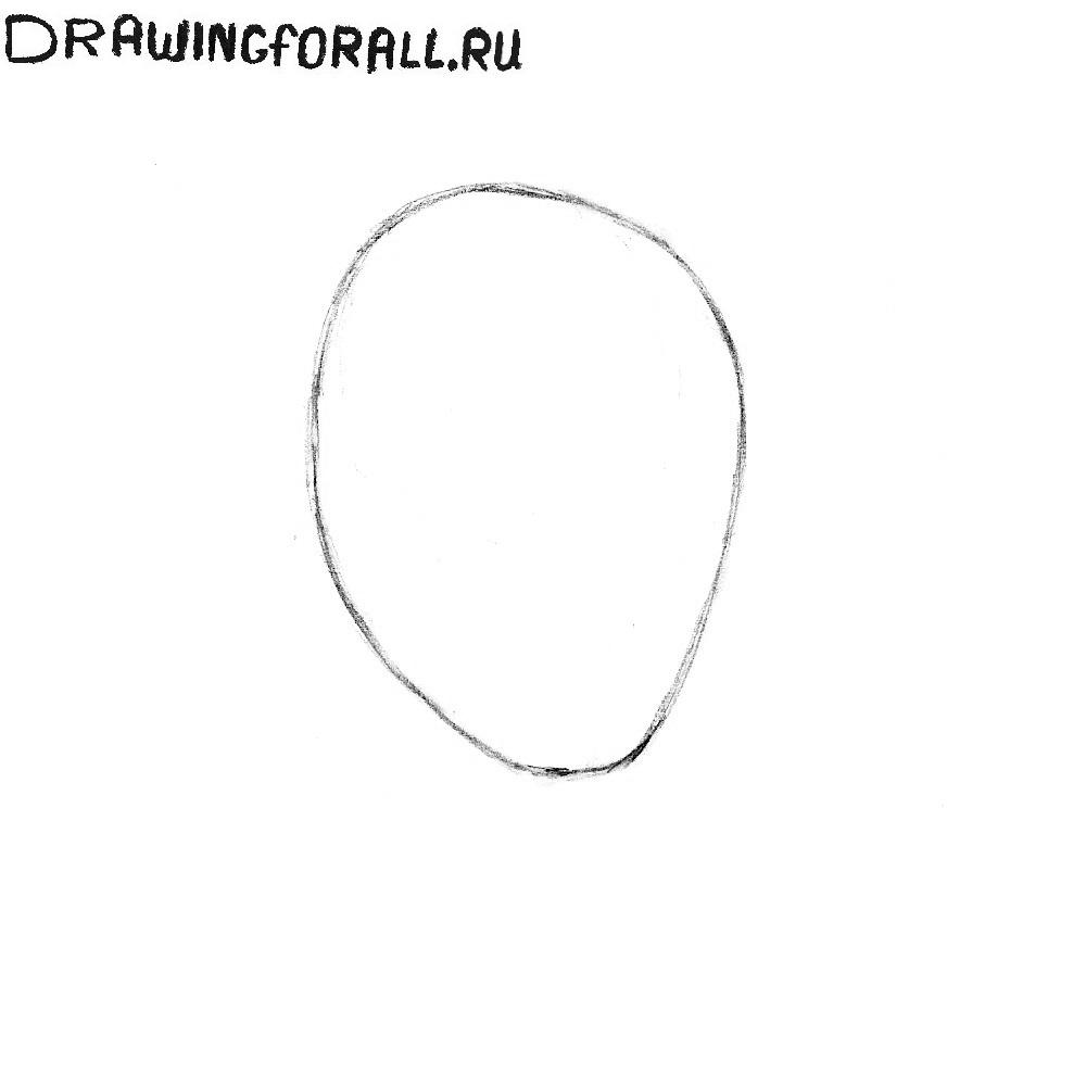 как рисовать голову