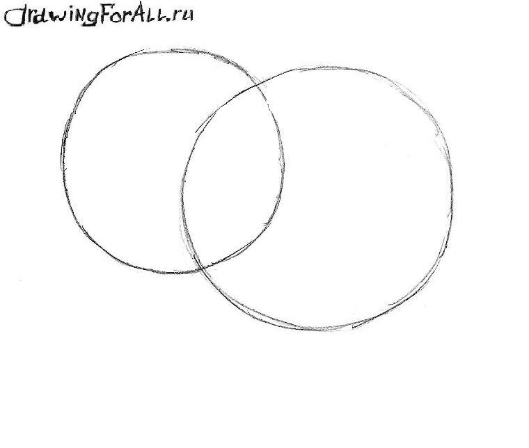 как нарисовать слоника поэтапно