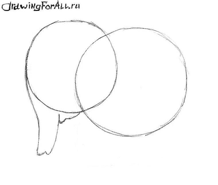 Как нарисовать слоника для начинающих