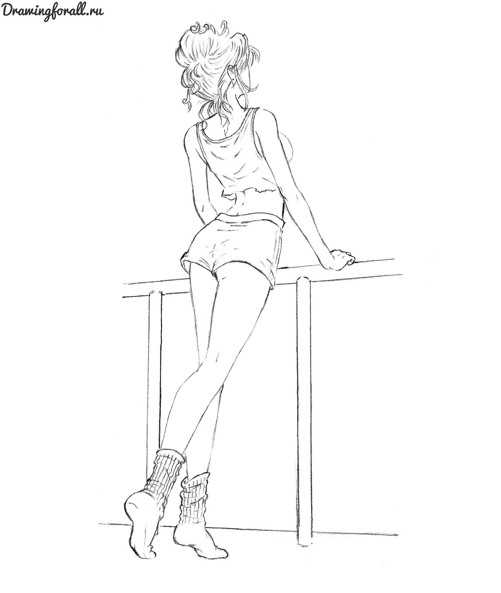Как нарисовать девушку