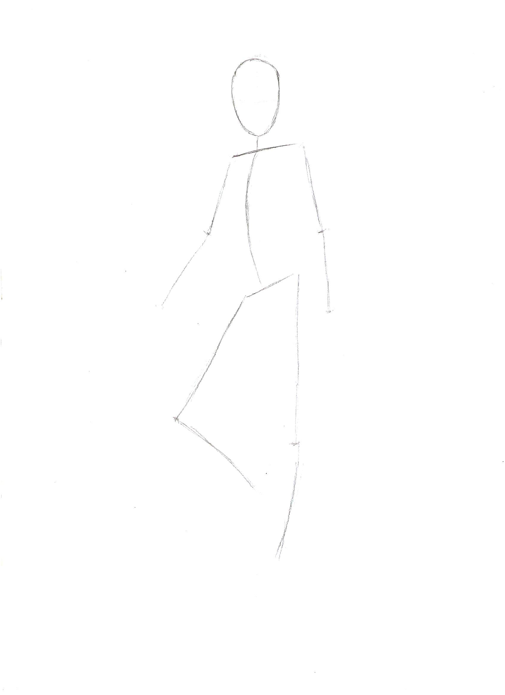 как нарисовать Мисс Марвел из мстителей