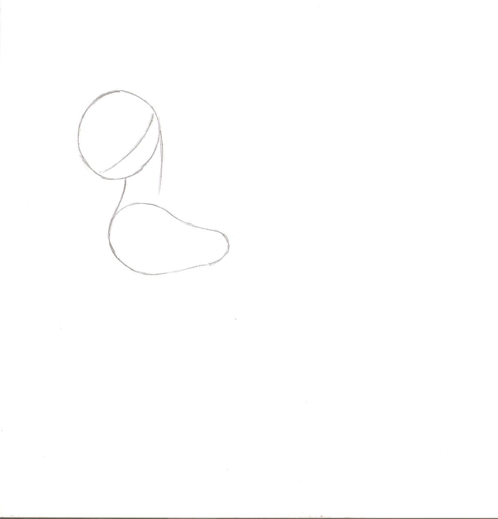как нарисовать пони луну