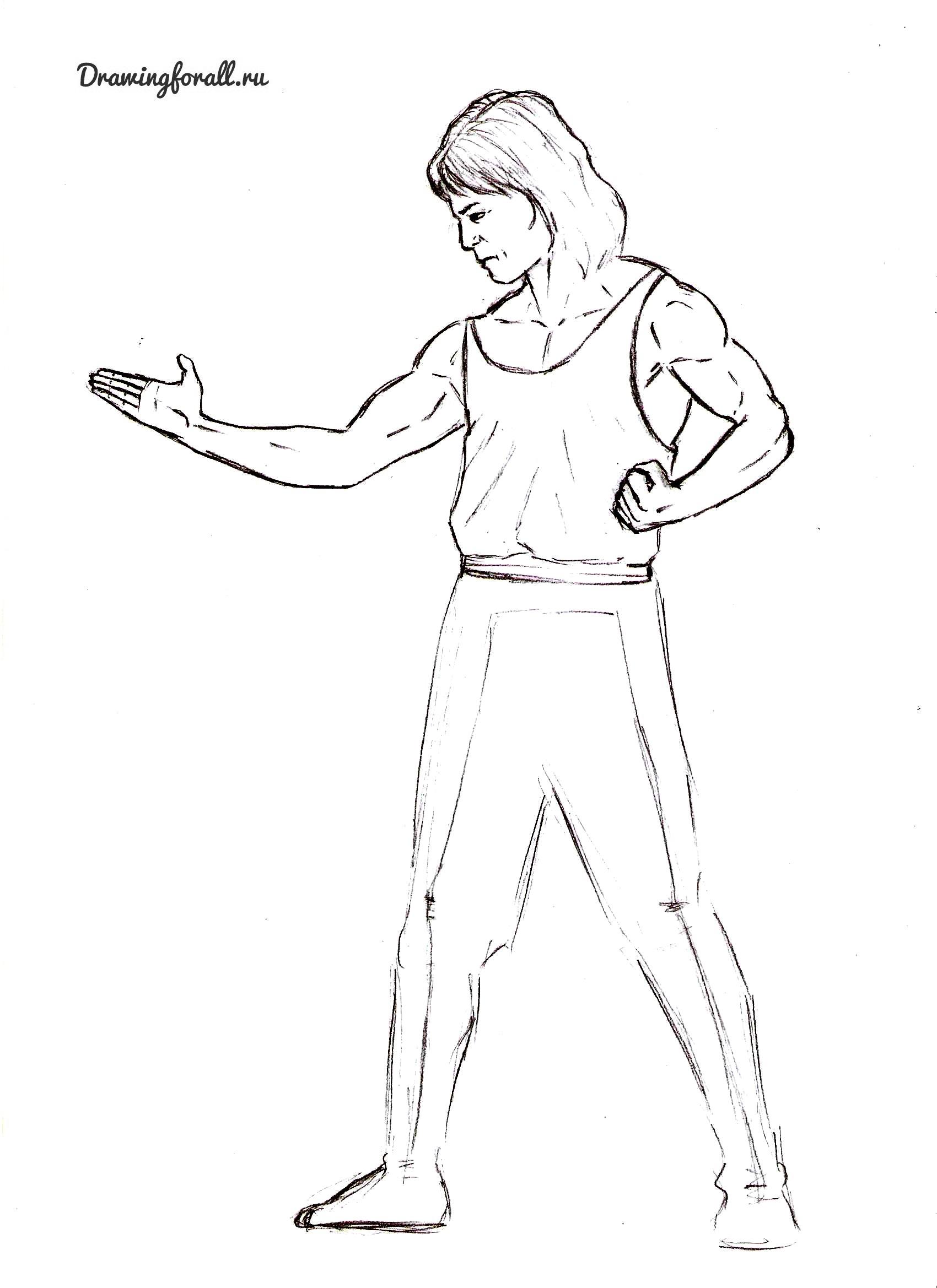 Как нарисовать Люканга