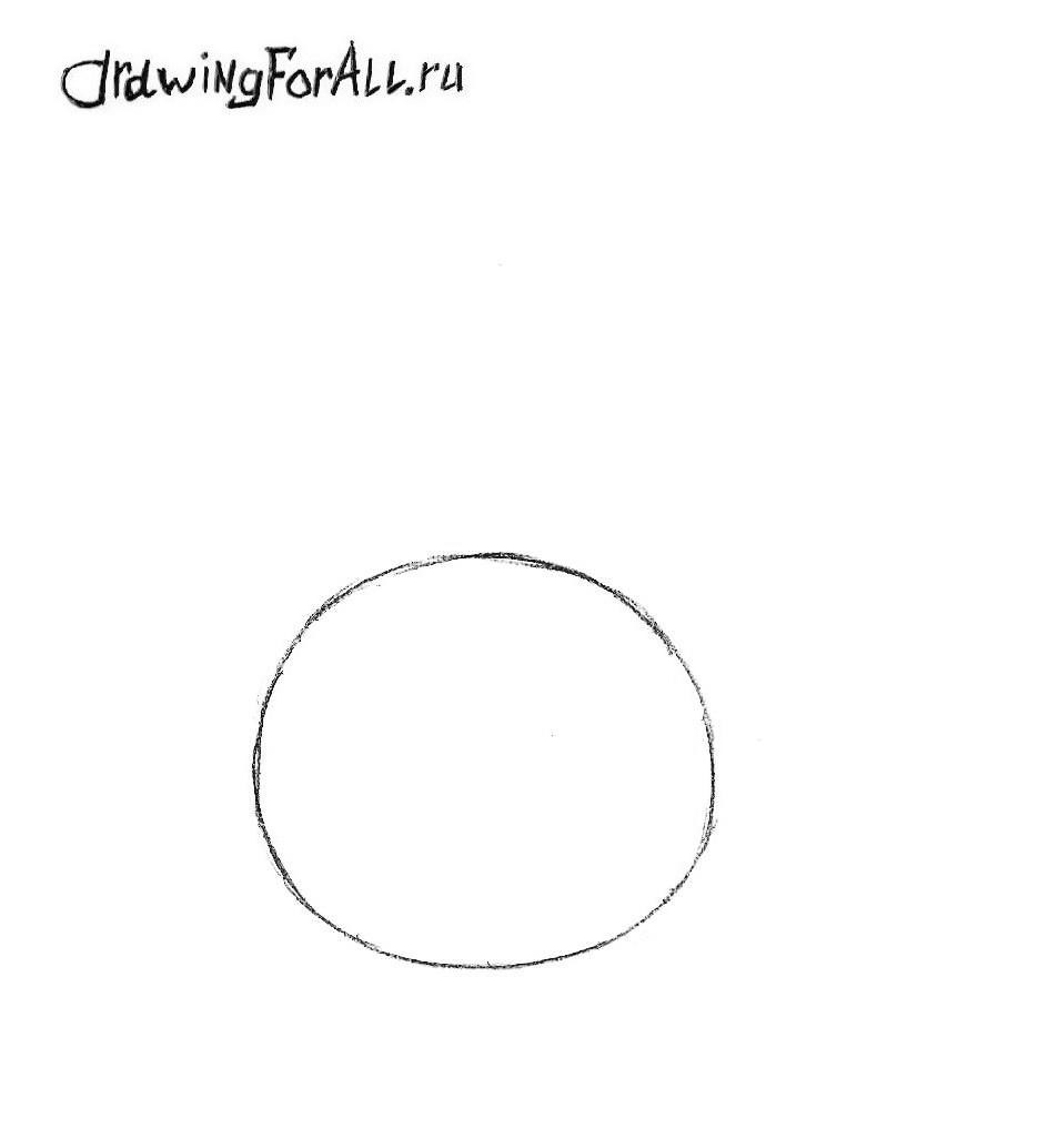 Как нарисовать патрика