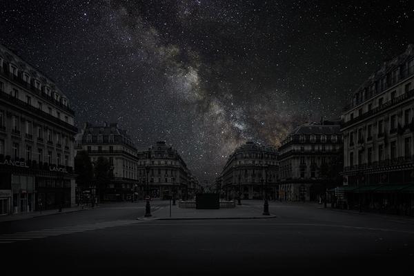 Тьерри Коэн, ночной Париж