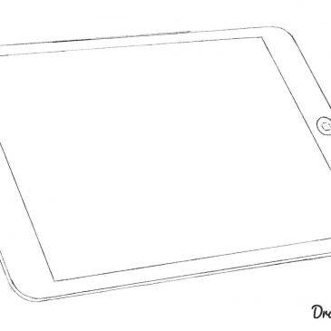 Как нарисовать планшет айпад